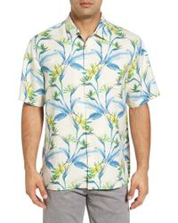 Tommy Bahama | Blue Porto De Paradise Silk Sport Shirt for Men | Lyst