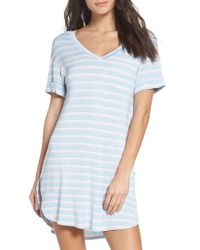 Honeydew Intimates | Blue Rib Sleep Shirt | Lyst