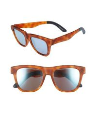 TOMS | Brown Dalston 54mm Sunglasses | Lyst