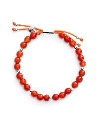 Gorjana | Red Power Semiprecious Stone Beaded Bracelet | Lyst