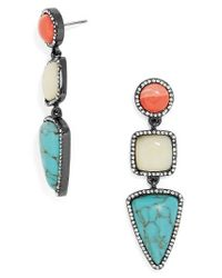 BaubleBar | Blue Amari Drop Earrings | Lyst
