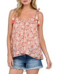 Volcom | Multicolor Canyon Call Print Camisole | Lyst
