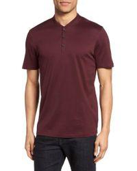 Calibrate | Purple Trim Fit Fashion Polo for Men | Lyst