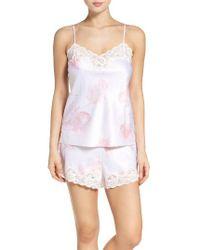 Lauren by Ralph Lauren   Pink Satin Pajamas   Lyst
