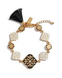 Kate Spade | Black Moroccan Tile Bracelet | Lyst