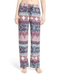 Pj Salvage   Multicolor Lounge Pants   Lyst