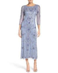 Pisarro Nights | Purple Embellished Mesh Dress | Lyst