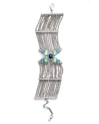 Jenny Packham - Multicolor Wanderlust Chain Bracelet - Lyst