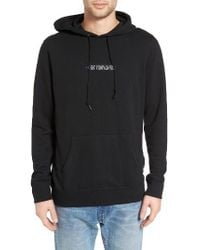 Obey | Black New Times Fleece Hoodie for Men | Lyst