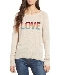 Zadig & Voltaire Multicolor Baly Bis Cashmere Sweater