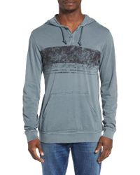 RVCA - Blue Ptc Band Hoodie for Men - Lyst