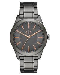 Armani Exchange | Metallic Bracelet Watch | Lyst