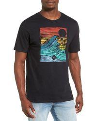 Hurley | Black Tropic Target Graphic T-shirt for Men | Lyst