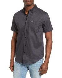 Hurley | Black One And Only Dri-fit Woven Shirt for Men | Lyst