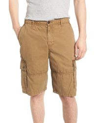 Lucky Brand | Natural Core Cargo Shorts for Men | Lyst