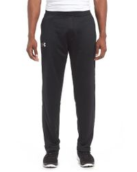 Under Armour | Black Tech Terry Pants for Men | Lyst