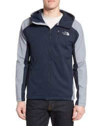 The North Face | Blue Tenacious Water Repellent Hybrid Jacket for Men | Lyst