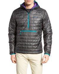 Patagonia | Black Nano Puff Bivy Regular Fit Water Resistant Jacket for Men | Lyst