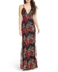 Jay Godfrey   Black Henderson Embroidered Gown   Lyst