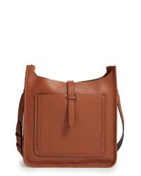 Rebecca Minkoff | Brown Unlined Whipstitch Feed Bag | Lyst