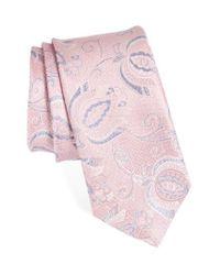 John W. Nordstrom | Pink John W. Nordstrom Paisley Silk Tie for Men | Lyst