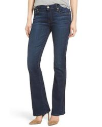 7 For All Mankind | Blue 7 For All Mankind Tailorless - Icon Bootcut Jeans | Lyst