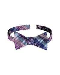 Ted Baker | Blue Pleasant Plaid Bow Tie for Men | Lyst