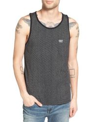 Obey | Black Alder Print Tank for Men | Lyst