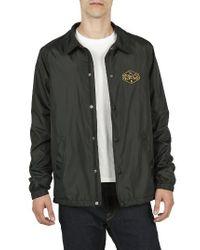 Volcom | Black Coach's Jacket for Men | Lyst