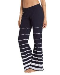 Billabong | Blue Turn To Me Stripe Pants | Lyst