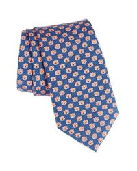 Vineyard Vines | Blue Auburn University Silk Tie for Men | Lyst