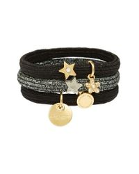 Marc Jacobs | Black Marc By Set Of 3 Charm Ponytail Holders | Lyst