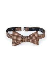 Ted Baker | Brown Warp Dot Silk Bow Tie for Men | Lyst