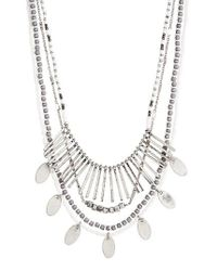 Treasure & Bond - Multicolor Multistrand Frontal Necklace - Lyst