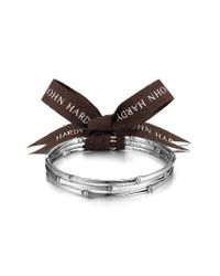 John Hardy | Metallic Bamboo Set Of Two Bangles | Lyst