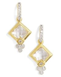 Freida Rothman | Metallic Visionary Fusion Small Drop Earrings | Lyst