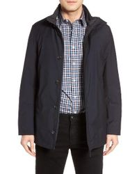 Cardinal Of Canada | Blue Reversible Wool Jacket for Men | Lyst
