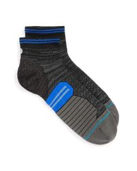 Stance   Black Uncommon Solids Quarter Cut Socks for Men   Lyst
