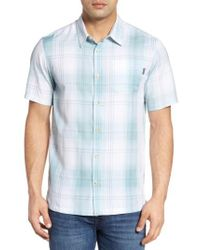 Jack O'neill | Blue Outerbanks Plaid Sport Shirt for Men | Lyst