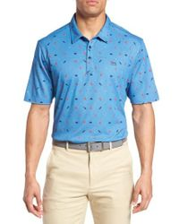 Travis Mathew | Blue Watson Trim Fit Polo for Men | Lyst