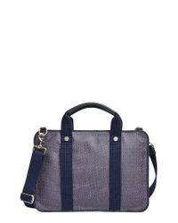 Skagen | Blue Hulsten Coated Twill Briefcase for Men | Lyst