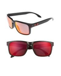 Oakley - Blue Holbrook 56mm Polarized Sunglasses - Lyst