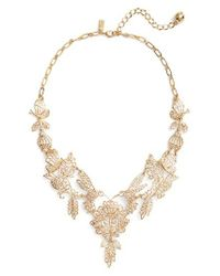Kate Spade | Metallic Golden Age Statement Necklace | Lyst