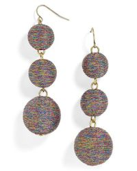 BaubleBar | Metallic Shimmer Crispin Drop Earrings | Lyst