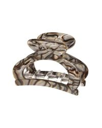 France Luxe | Metallic Cutout Jaw Clip | Lyst