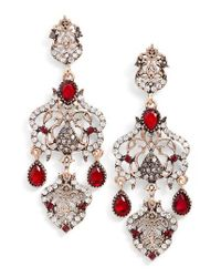 SAREH NOURI - Red Statement Earrings - Lyst