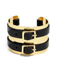 BaubleBar | Black Delfina Cuff Bracelet | Lyst