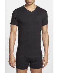 Polo Ralph Lauren   White 3-pack Trim Fit T-shirt, Black for Men   Lyst