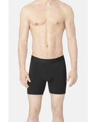 Calvin Klein | Black Stretch Boxer Briefs for Men | Lyst