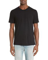 T By Alexander Wang | Black 'classic' T-shirt for Men | Lyst